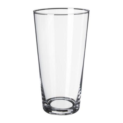 花瓶 22cm クリアガラス