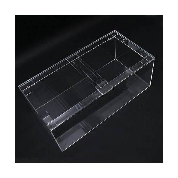 アクリル水槽(サイズ:180×60×60cm 板厚:10×12×8mm)
