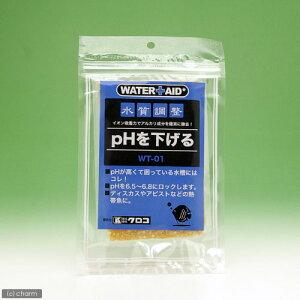 イオン吸着力でアルカリ成分を除去!ウォーターエイド 水質調整 pHを下げる 100cc【関東当日...