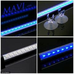 水槽内を美しく照らし出す!水陸両用LEDライト MAVI マヴィ (ブルー) 水槽用照明・LEDラ...