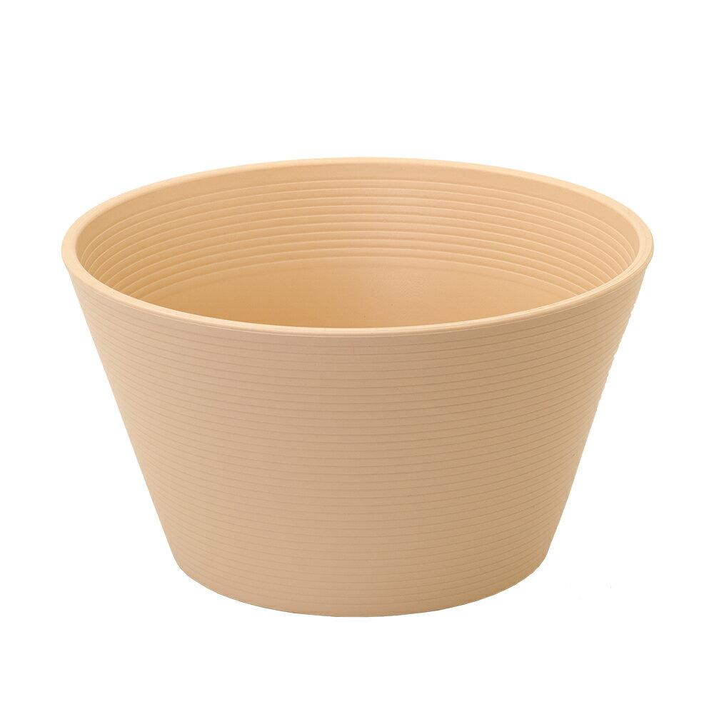 睡蓮鉢 メダカ鉢 金魚鉢 ベージュ 直径44cm 高さ25cm 軽量2kg、割れにくい、頑丈な厚み1.2cm お一人様3点限り 関東当日便