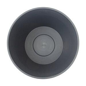チャームオリジナル睡蓮鉢グレー(直径44×高さ25cm・23L)関東当日便