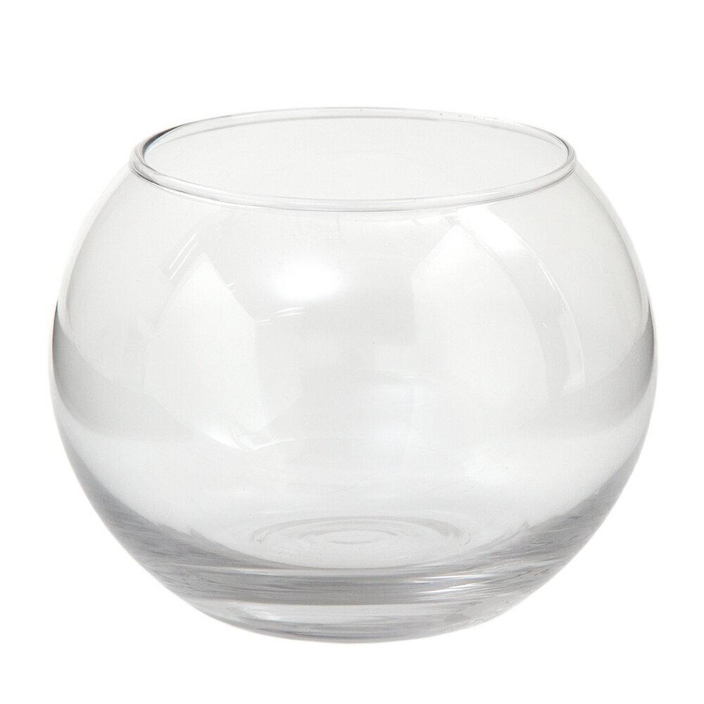 ガラスベース フローラボール M 15cm エアプランツ 多肉植物 ティランジア ガラス
