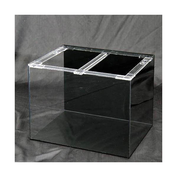 アクリル水槽 アクリルクリアタンク 底面・背面板黒(60×45×45cm・板厚5×5×5mm) 60cm水槽