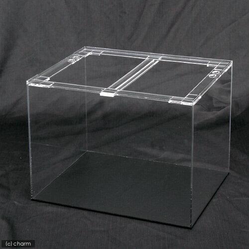 アクリル水槽 アクリルクリアタンク 底面板黒(60×30×36cm・板厚4×4×5mm) 60cm水槽