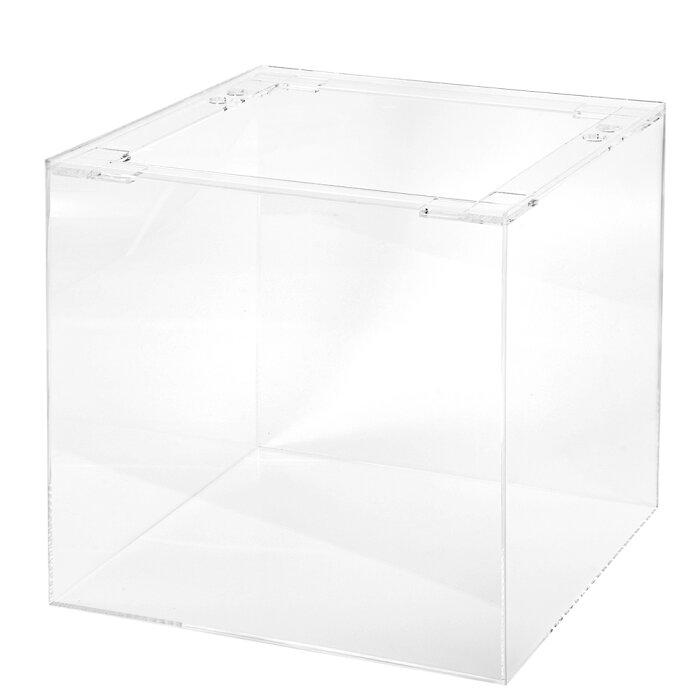 □アクリル水槽 アクリルクリアタンク リブなし(45×45×45cm・板厚5×5×4mm) 沖縄別途送料 関東当日便