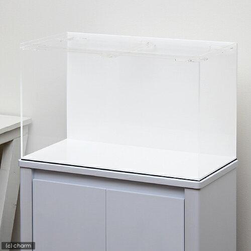 アクリル水槽 アクリルクリアタンク 底面・背面板白(60×30×36cm・板厚5×5×5mm)