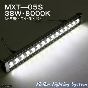 メタハラを凌ぐ光量!LED照明 MXT−05S NEW 38W・水草用 彩度型(Ga) 水槽用照明・LEDラ...