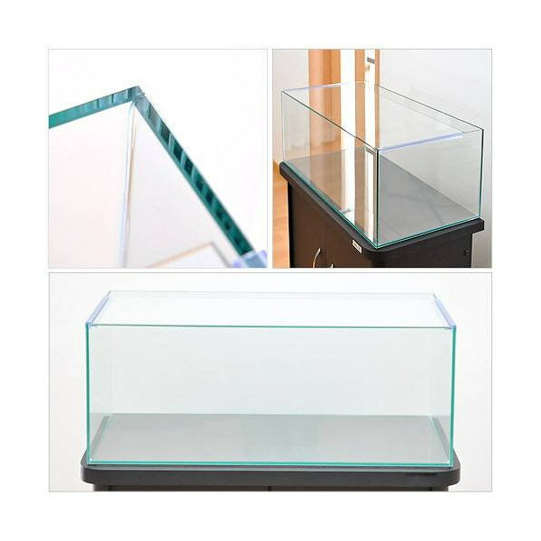 60cmフラット水槽アクロ60Nフラット(60×30×23cm)オールガラス水槽 Aqullo アクアリウム用品