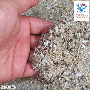 C.P.Farm直送ライブアラゴナイトサンドスモール1kg(約0.8L)(0.12個口相当)サンゴ砂底砂別途送料