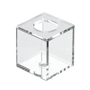 アクリル製の透き通る輝き!クリアボンベスタンド Cubic H80【関東当日便】