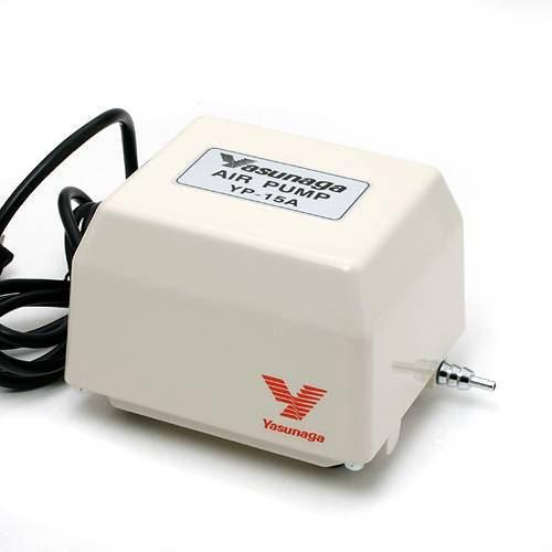 安永電磁式エアーポンプ(ブロワー) YP-15A 120cm以上水槽用エアーポンプ 関東当日便