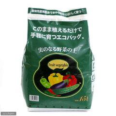 365日毎日発送 ペットジャンル1位の専門店お一人様2点限り 実のなる野菜の土 15L(5kg) エ...