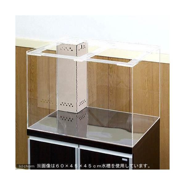 アクリル水槽 OFコーナー付(サイズ:120×45×45cm)
