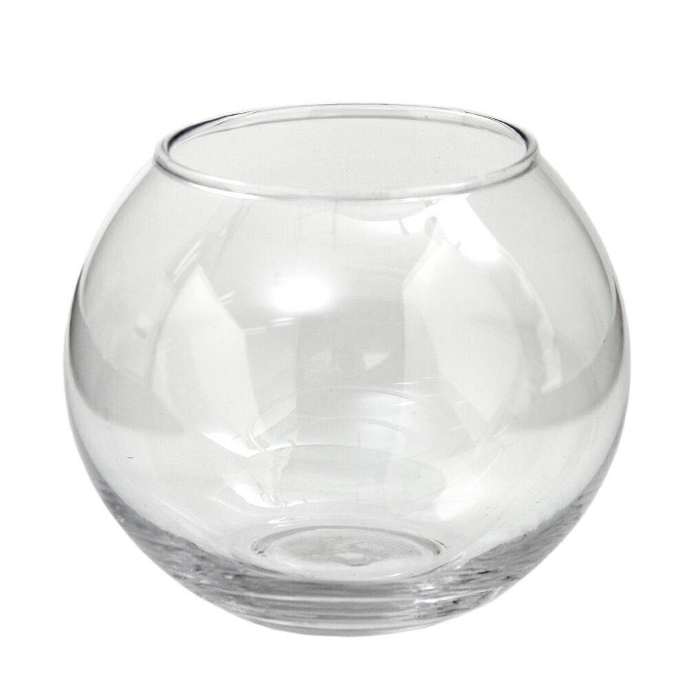 ガラスベース フローラボール S 11cm エアプランツ 多肉植物 ティランジア ガラス