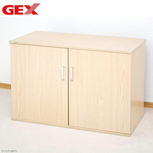 GEX 水槽台 扉付きキャビネット910WX シロ木目 90cm水槽用 ジェックス 訳あり