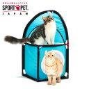 軽量設計で移動がかんたん!SPORT PET キャット コーナー キャットタワー 猫 おもちゃ ...
