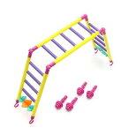 みずよし貿易 虹の架け橋 M 鳥 おもちゃ はしご ラダー 関東当日便