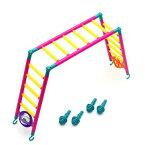 みずよし貿易 虹の架け橋 L 鳥 おもちゃ はしご ラダー 関東当日便