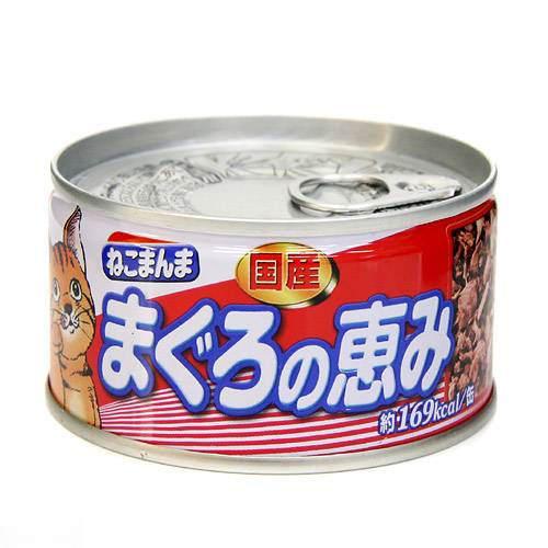 箱売り はごろもフーズ ねこまんま まぐろの恵み 170g 1箱48缶 キャットフード 関東当日便