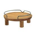 獣医師さんも推奨!ペット用 木製テーブル シングル ブラウン 【あす楽対応_関東】