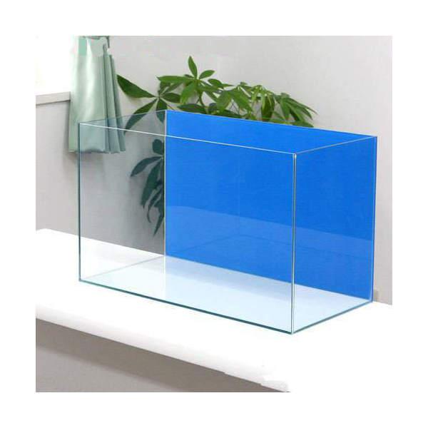 バックスクリーン貼付済 エーハイム EJ-60 水槽 アクアブルー(60×30×36cm)