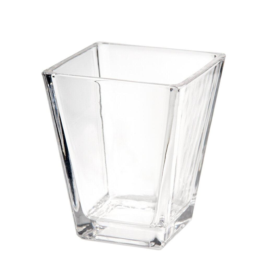 ガラスベース スクエアグラス M エアプランツ 多肉植物 ティランジア ガラス