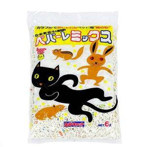 ペット用紙の砂!スーパーキャット ペパーレミックス 6L 猫砂 トイレ砂 紙 猫 うさぎ ...