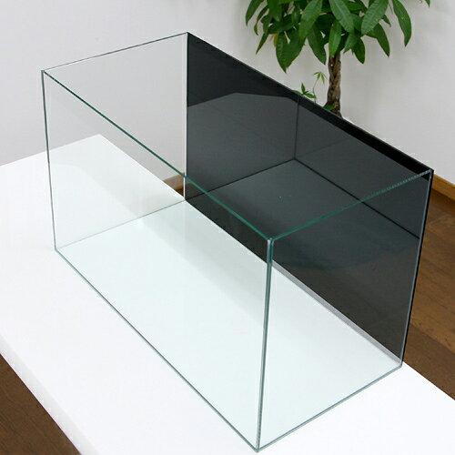 バックスクリーン貼付済 テトラ グラスアクアリウム GA-60T ジェットブラック60×30×40cm 水槽