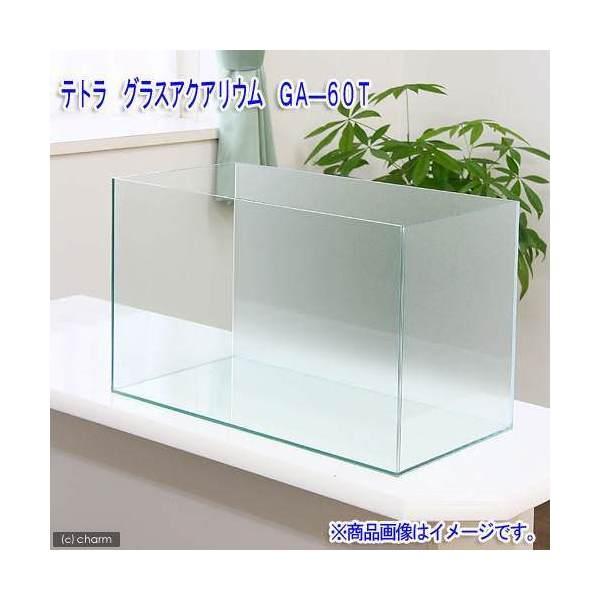 バックスクリーン貼付済 テトラ グラスアクアリウム GA-60T サンド(60×30×40cm)60cm水槽