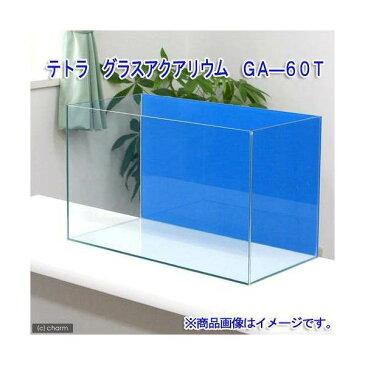 バックスクリーン貼付済 テトラ グラスアクアリウム GA−60T アクアブルー(60×30×40cm) 60cm水槽(単体) 沖縄別途送料 関東当日便
