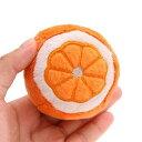 ペッツルート まんまるフルーツ オレンジ 犬 犬用おもちゃ ぬいぐるみ 関東当日便