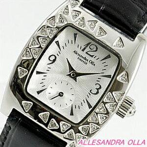 腕時計, レディース腕時計 Alessandra Olla AO-1600BK