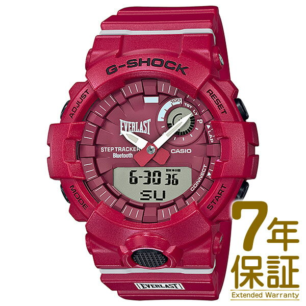 腕時計, メンズ腕時計 CASIO GBA-800EL-4AJR G-SHOSK G EVERLAST Bluetooth