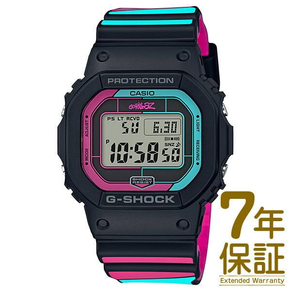国内正規品 CASIOカシオ腕時計GW-B5600GZ-1JRメンズG-SHOCKGショックG-SHOCK×Gorillazコ