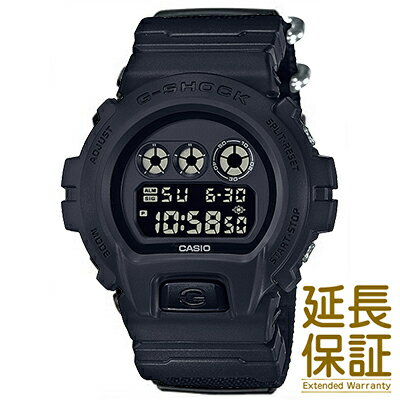 腕時計, メンズ腕時計 CASIO DW-6900BBN-1JF G-SHOCK Military Black CORDURA