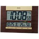 【正規品】SEIKO セイコー クロック SQ440B 電波 掛置兼用時計
