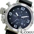 COGU コグ 腕時計 C61-BK メンズ クロノグラフ【楽ギフ_包装】