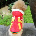 ドッグウエア M Style 秋 冬 犬用服 ペット用品 Red レッド 赤 ダ…