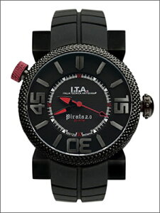 【レビューを書いて5年延長保証】I.T.A.アイ・ティー・エー腕時計20.00.01メンズPirata2.0ピラータ2.0