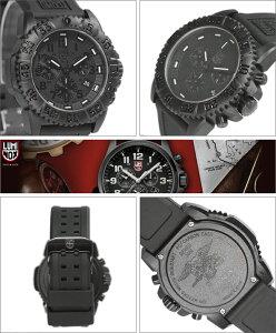 LUMINOXルミノックス腕時計3081BLACKOUTメンズNAVYSEALsDIVEWATCHSERIES(ネイビーシールズダイブウォッチシリーズ)COLORMARKSERIESBLACKOUT(ブラックアウト)クロノグラフ