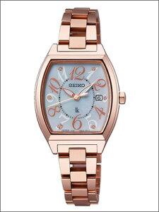 【レビューを書いて10年延長保証】【5/13~発送予定】セイコー腕時計SEIKO時計正規品SSVN028レディースLUKIAルキアソーラーサファイアガラス