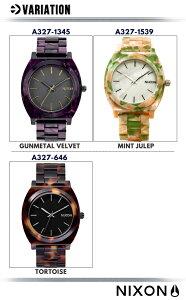 NIXONニクソン腕時計302021ユニセックスTIMETELLERタイムテラー
