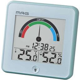 【正規品】NOA ノア精密 クロック TH-104 BU MAGデジタル温度湿度計 インデクス