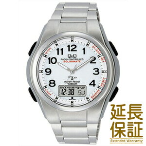 【国内正規品】Q&Q キュー&キュー 腕時計 CITIZEN シチズン CBM QQ MD02 204 メンズ SOLARMATE ソーラー電波 JAN:4966006063417