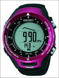 【レビューを書いて5年延長保証】【2/10~発送】セイコー腕時計SEIKO時計正規品SBEL003メンズPROSPEXALPINISTプロスペックスアルピニストBluetooth通信機能ソーラーハードレックス