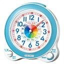 【正規品】SEIKO セイコー クロック KR887L 置時計 知育時計 子供用