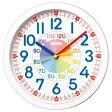 SEIKO セイコー クロック KX617W 掛時計 知育時計 4517228033261