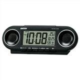 【正規品】SEIKO セイコー クロック NR531K RAIDEN ライデン 大音量アラーム 電波 目覚まし時計