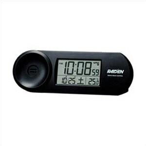 置き時計・掛け時計, 置き時計 SEIKO NR532K BLACK